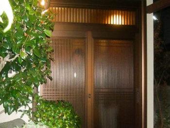 相模原市中央区KA様邸 玄関引き戸リフォーム 事例