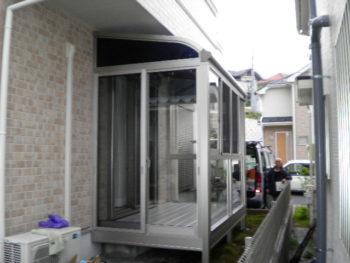 東村山市 TA様邸 テラス囲い追加リフォーム施工事例