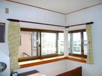 座間市 OK様 コーナー窓に内窓取付